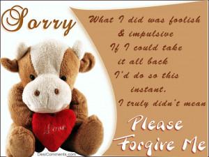 Please Forgive Me Quotes For Him Please forgive me
