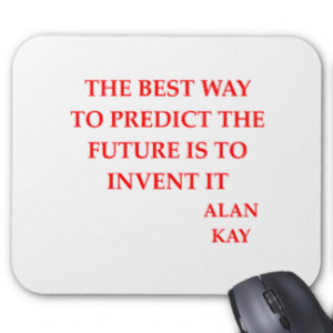 alan kay quote mouse pad