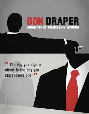 Don Draper – Mad Men – The Marketing Finale