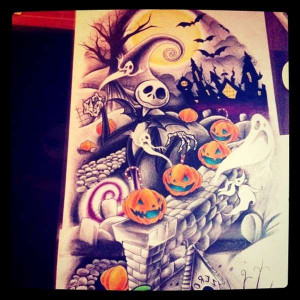 Posts related to nightmare before christmas tattoo quotes