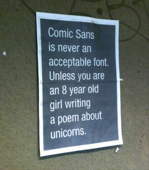 funny comic sans quotes