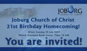 Church Anniversary Celebration Church Homecoming Celebration
