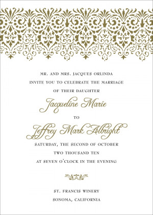non traditional wedding invitation wording template L6vv0qZf