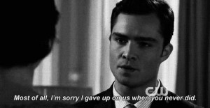 and this is a very chuck bass and blair waldorf story eh on so many ...