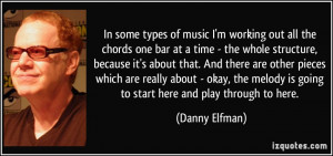 In some types of music I'm working out all the chords one bar at a ...
