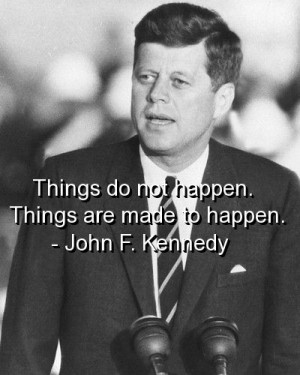 John F Kennedy Favorite Quote