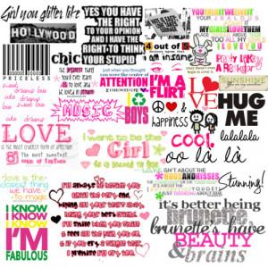 random cute quotes - Polyvore