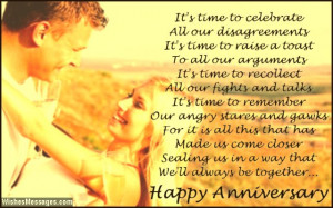Romantic Anniversary Quotes For Him: Anniversary Poems For Husband ...