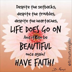 Beautiful faith!