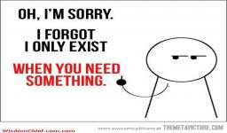 Very Sarcastic I Am Sorry Quote Funny Picture