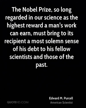 Edward M. Purcell Quotes