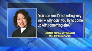 Sonia Sotomayor Critical of Arizona Immigration Law