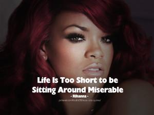 Hot Quote Tattoo Rihanna