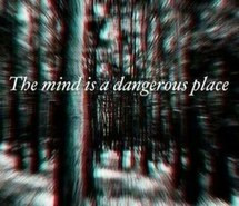 black and white, dangerous, forest, mind, place, scary, slenderman