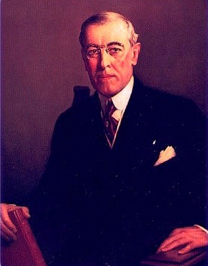world war 1 woodrow wilson