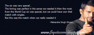 Mahendra Singh Dhoni Quotes Cover Photos