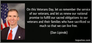 Thank You Veterans Day Quotes :