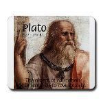 Plato: Ancient Greek Philosopher: Love, Beauty, Education Mousepad