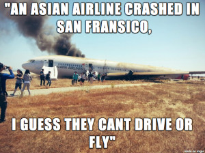 friend's dad quote on the airplane crash today