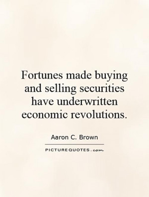 Aaron C Brown Quotes