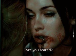 scary scene from the 2009 thriller Jennifer's Body starring Megan ...
