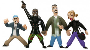 Chasing Amy Inaction Figure 4-pack $29.99