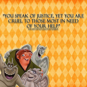 Hunchback of Notre Dame quote