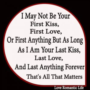 ... Quotes , First love Picture Quotes , Kiss Picture Quotes , Love