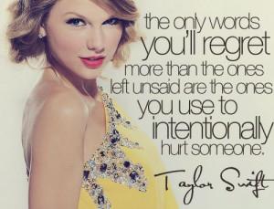 Taylor Swift wisdom