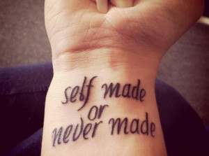 Quotes Tattoos For Wrist