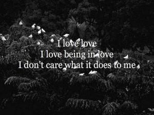 love love I love