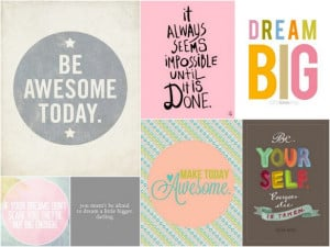 Words of Encouragement :: Pretty on Pinterest