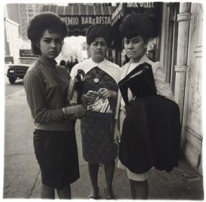 Three Puerto Rican women, N.Y.C. 1963