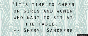 Lean In' Quotes: 11 Of The Best Quotations From Sheryl Sandberg's New ...