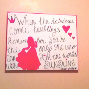Snow white DIY quote :)) love it!!!