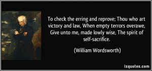 To check the erring and reprove; Thou who art victory and law, When ...
