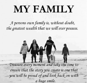 Family is not always blood relative