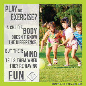 What do you think? Is Play and Exercise one and the same, or is there ...