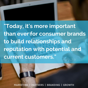 more important than ever for consumer brands to build relationships