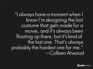 Colleen Atwood Quotes