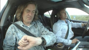 Still of James May and Richard Hammond in Top Gear