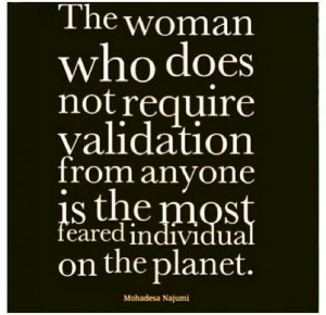 mother does things out of love not for validation from others...