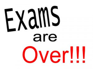 And at last, after writing last exam and completing assignments we got ...