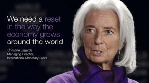 Christine Lagarde, Managing Director, International Monetary Fund, at ...