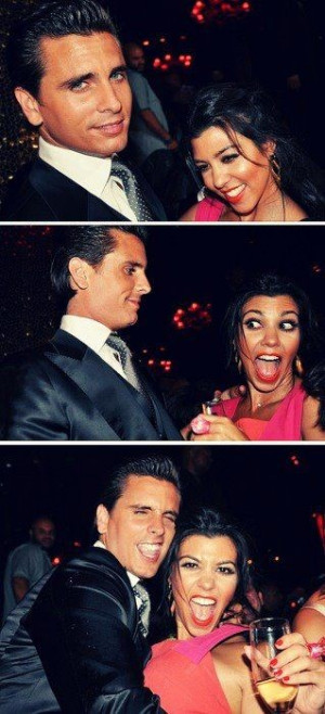LOVE kourtney & scott