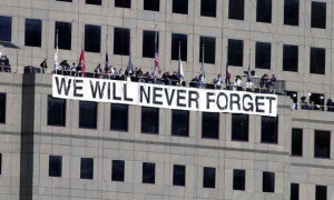 11 Never Forget Banner