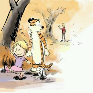 Calvin is all grown up and saying farewell to his life long make ...