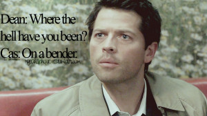 castiel funny quotes supernatural quotes funny bobby quote