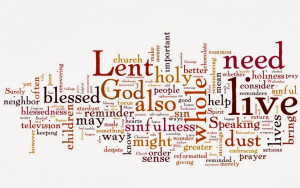 ... with all of that being said, here is my Wednesday Wishlist for Lent