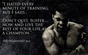 Muhammad Ali Motivation
